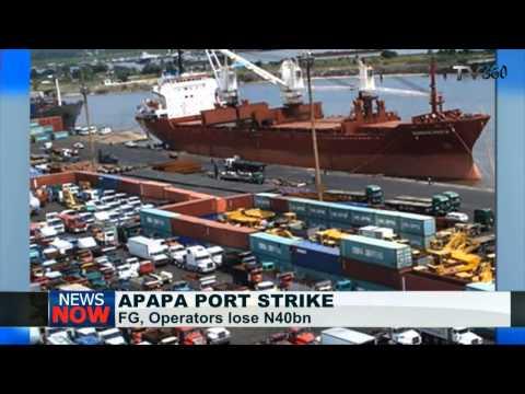 FG, operators lose N40bn to Apapa port strike