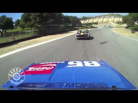 Adam Carolla Racing at HMSA 2013 Datsun 510