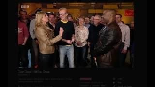 Sabine Schmitz Racial (comment/ joke) about Rory Reid being pale Top Gear: Extra Gear