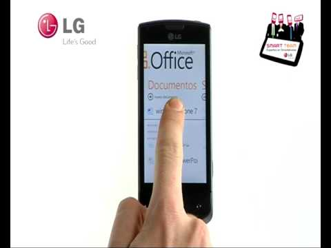 LG Smart Team: cómo eliminar documentos de Microsft Office en tu LG Optimus 7 con Windows Phone 7