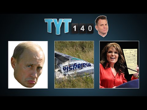 Perdue Win, EU Dithers, MH17 Mystery, Bloomberg & Leadfoot Palin | TYT140 (July 23, 2014)