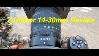 NIKON Z 14-30mm F4 Review. VS 14-24mm VS 16-35mm