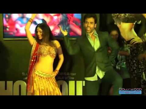 Sunny Leone and Tusshar Kapoor at the launch of song Laila (AlexBeroza Emerge In Love)