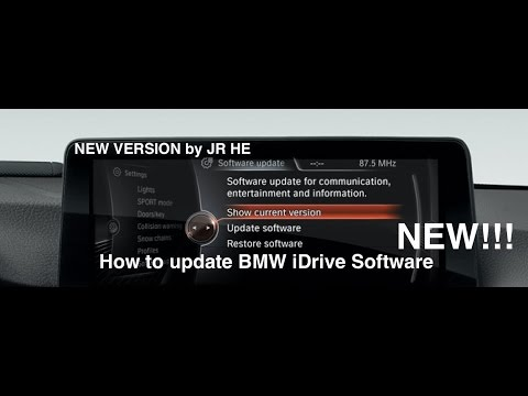 How To Update BMW iDrive Software (latest version) new video