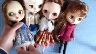 Factory Blythe Dolls - matte face blythe doll - blythe doll collection