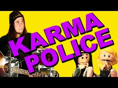 Karma Police - Gianni and Sarah (Walk off the Earth) Music Videos
