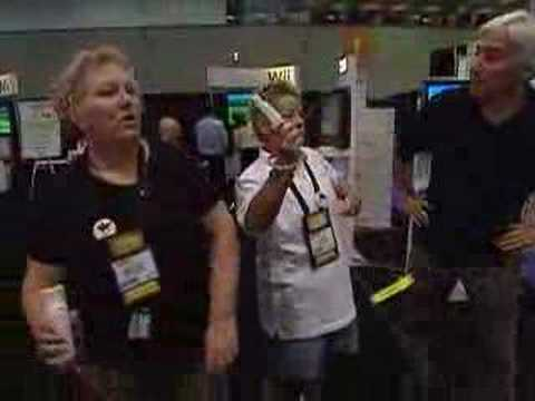 Eye To Eye With Katie Couric: Senior Wii Moment (CBS News)