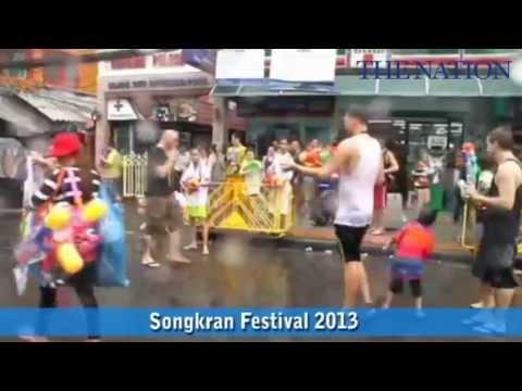 Thailand Songkran Festival 2013