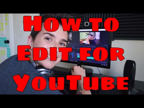 How I Edit My Videos Using Adobe Premiere Pro [YouTube Editing Walk Through]