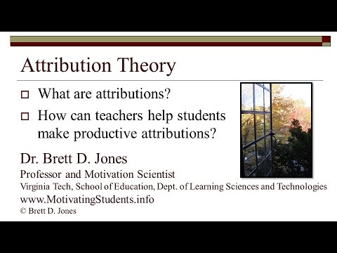 Attribution Theory v2