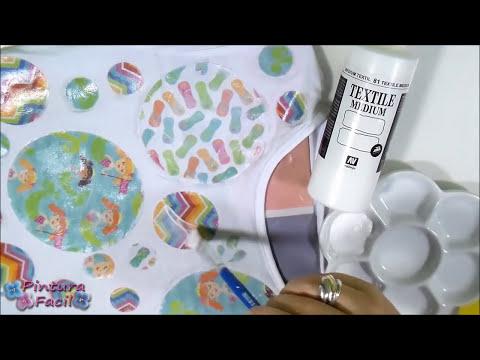 Como Hacer Transfer para Camisetas Transferencia sobre Tela y Barniz de Tansferencia Pintura Facil
