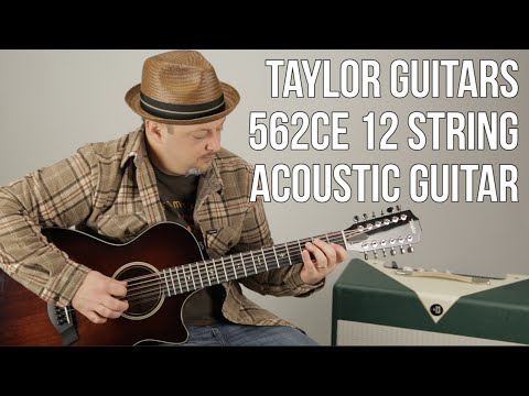 12 String Acoustic Guitar - Taylor Guitars 562ce  - Marty's Thursday Gear Videos