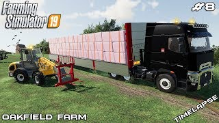 Selling silage bales | Animals on Oakfield Farm | Farming Simulator 19 | Episode 8