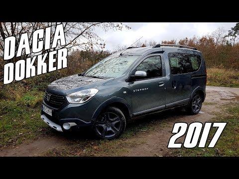 Dacia Dokker Stepway (2017) 1.5 DCi / 90KM - test. recenzja. review taniego. pojemnego kombiwana