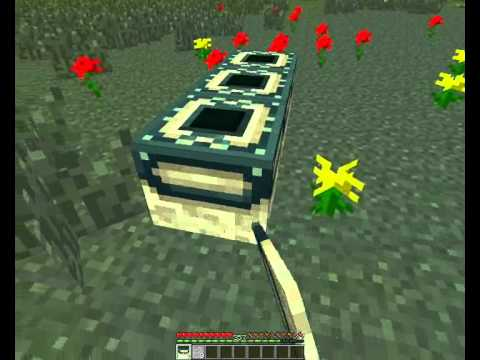 Minecraft how to make The end portal [HUN]