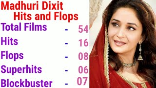 Madhuri Dixit Hits Or Flops Movies List And Box Office Collection Analysis,Madhuri Dixit Filmography
