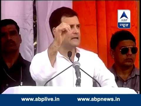 BLOOPER! Rahul Gandhi forgets, calls Modi, BJP