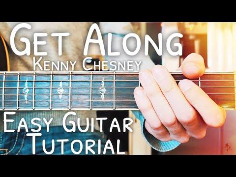 Download Lagu  Get Along Kenny Chesney Guitar Lesson for Beginners // Get Along Guitar // Lesson #459 Mp3 Free