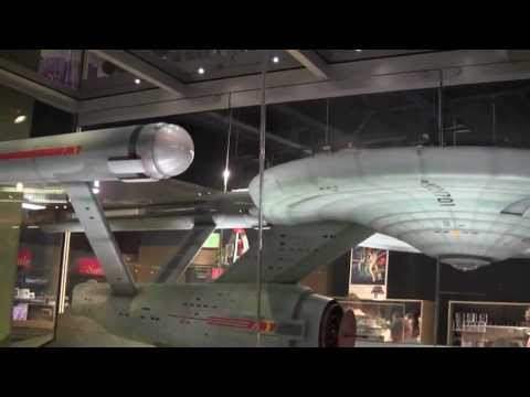 Star Trek USS Enterprise model from original TV show