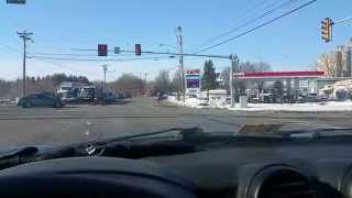 Police Chase in Harrisonburg VA