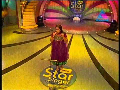 preetha singing in idea star singer season5.mpg