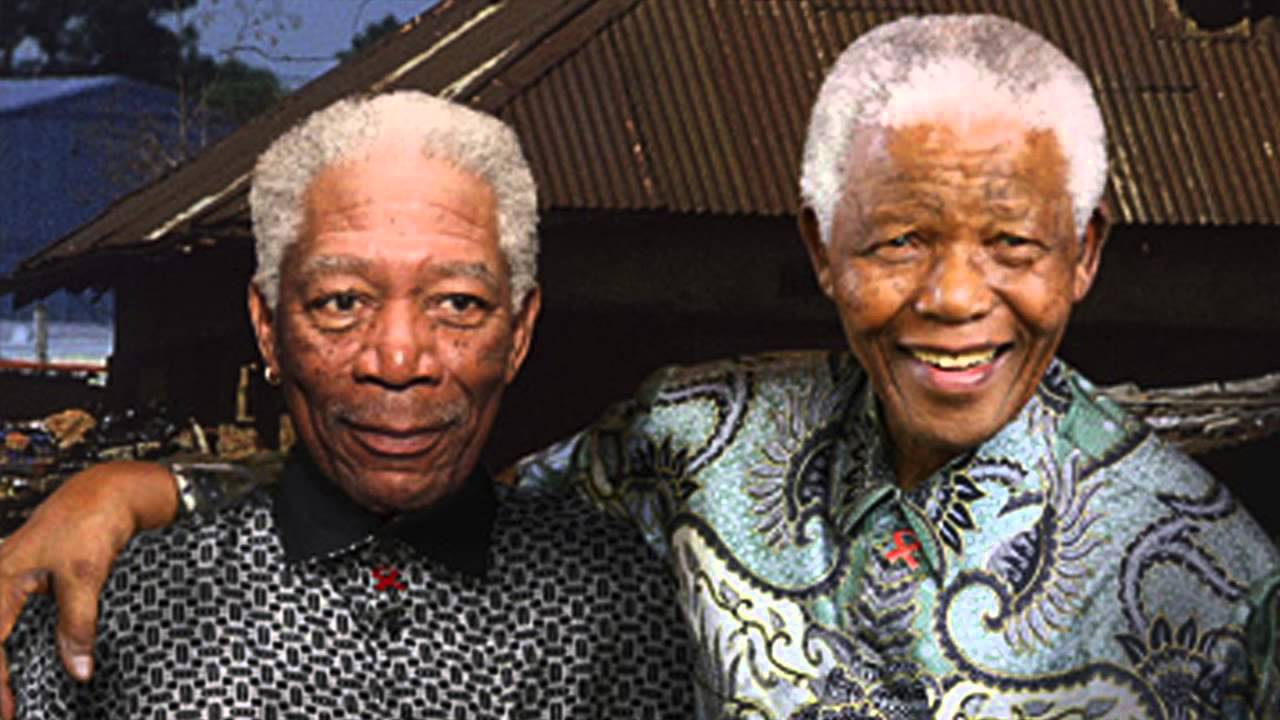 Nelson Mandela Confused With Actor Morgan Freeman On Kqed Forum Youtube