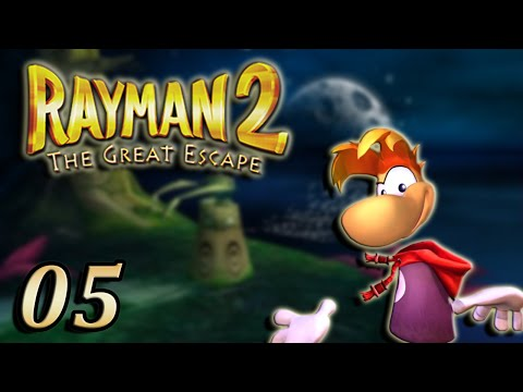 Rayman 2 : The Great Escape : La Grotte des Mauvais Rêves | 05 - Let's Play