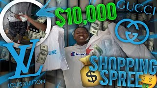 TOOK MY BESTFRIEND WHO WAS LOCKED UP FOR 2 YEARS ON A $10,000 SHOPPING SPREE!
