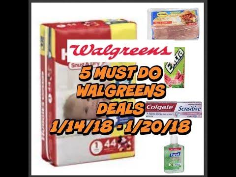 5 MUST DO WALGREENS DEALS 1/14 - 1/20 ~ Great savings this week!
