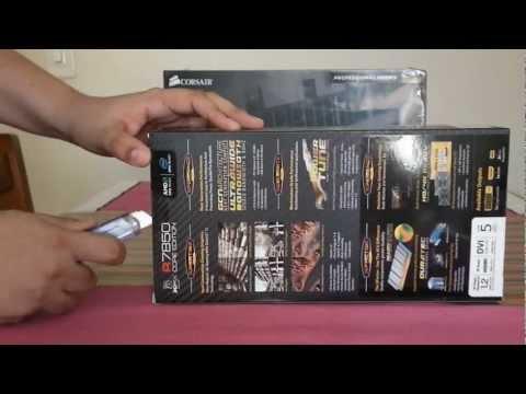 Unboxing XFX Radeon HD 7850 Core Edition - Pt Br