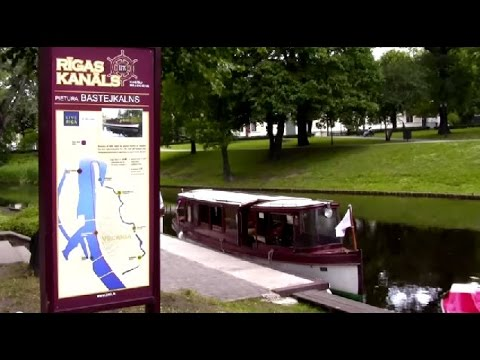 Travel Latvia 2013 Riga The Daugava River Boat Trip
