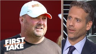 Freddie Kitchens' comment was a 'rookie coach mistake' – Max Kellerman | First Take