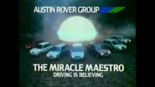 Austin Rover - Advert - The Miracle Maestro - (1983)