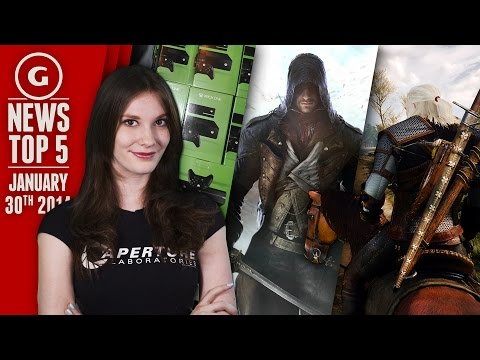 Ubisoft Deactivates PC Games & Free PS4/X1 Games in Feb! - GS News Top 5