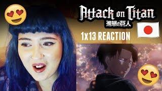 Attack On Titan - 1x13 REACTION | Shingeki no Kyojin [SUBBED]