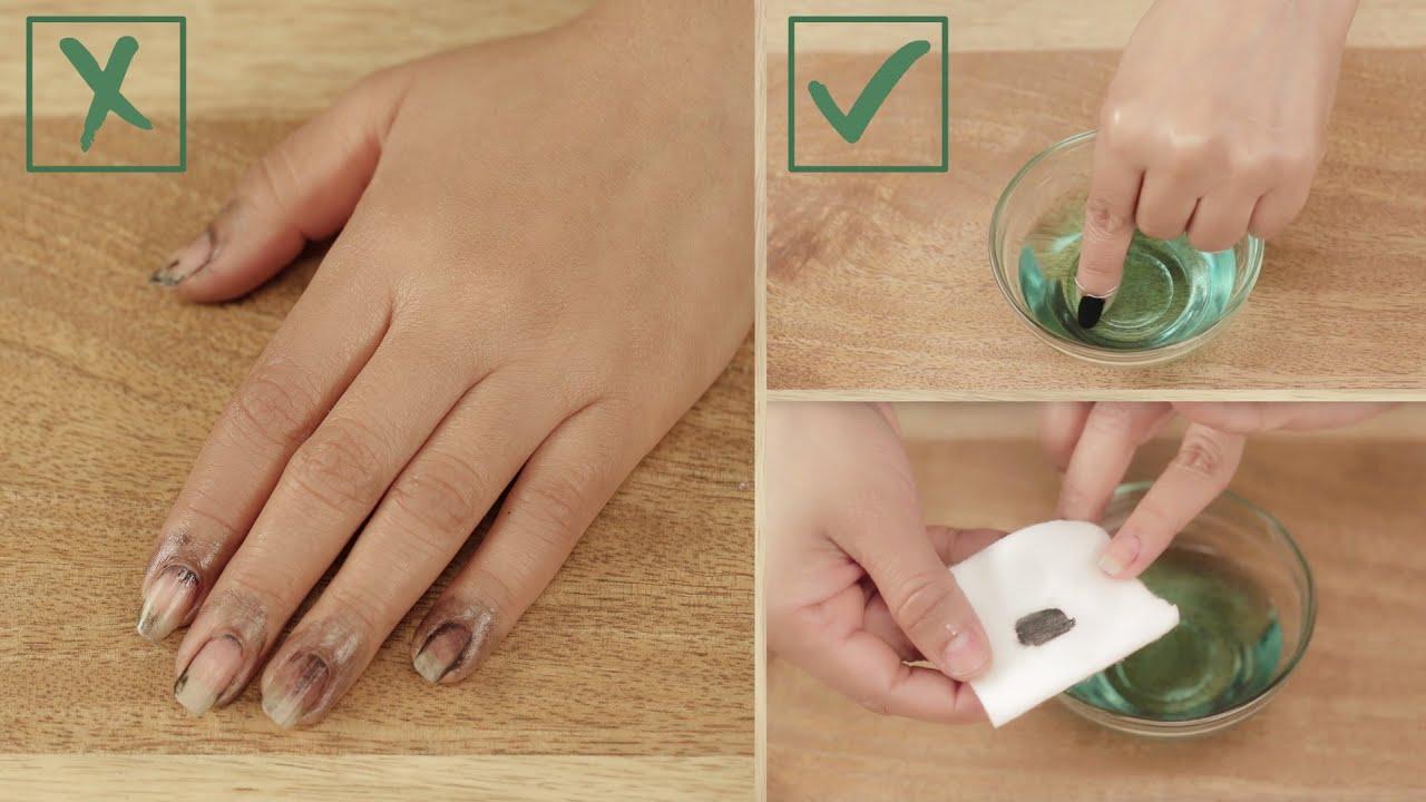 Чем в домашних условиях снять гелевые ногти в домашних условиях