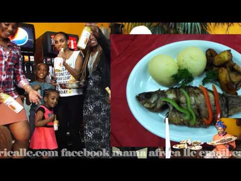 Mama Africa nouveau restaurant Mama Africa Grill