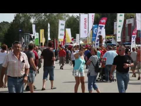 AGRA 2012 Intervjuji Milan Skledar - Peter Vrisk - mag. Blaž Kavčič - Franci Zupan (SKLEDAR.TV)