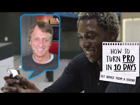Legend Tony Hawk Gives Pro Skateboarding Advice