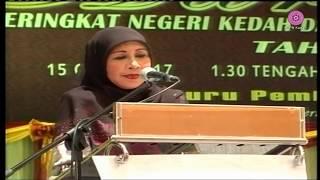 SAMBUTAN HARI GURU PERINGKAT NEGERI KEDAH TAHUN 2017 - DISK 01