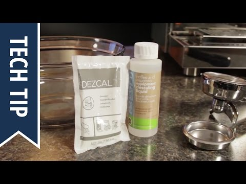 How to Descale Espresso Machine Heat Exchange Boilers