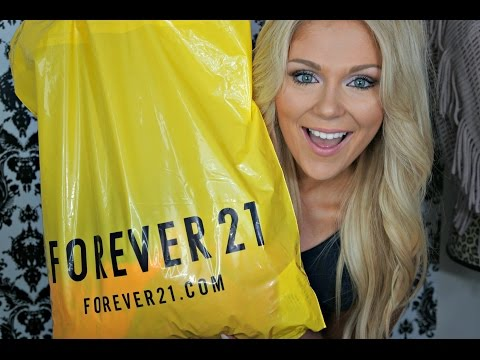 HUGE Fall Fashion Haul + TRY ONS: Forever 21 &  more!