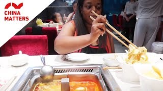 What is it like to eat hotpot in Beijing?