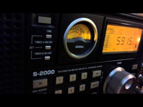 Radio Myanmar 00 UTC on 5915 Khz 21 December 2015