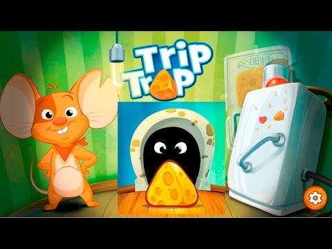 TripTrap #2 Головоломки Чеда на Кухне:) Мышонок играет на 3 звезды, ой СЫРА!
