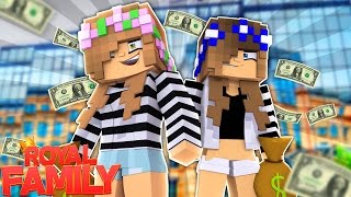 LITTLE KELLY AND CARLY ROB A BANK! Minecraft The Heist (Custom Roleplay)