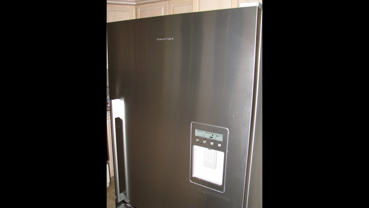 How To Repair Fisher Paykel E522b Ice Maker Not Working