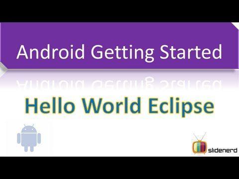 #2 Hello World Android Eclipse [HD 1080p]