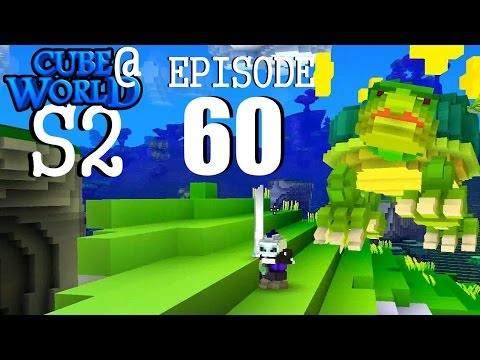 CubeWorld - S2E60 - Closing in on Level 100 - RPG Alpha Gameplay LP