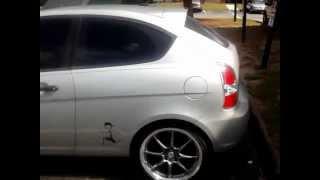 custom 2009 hyundai accent hatchback